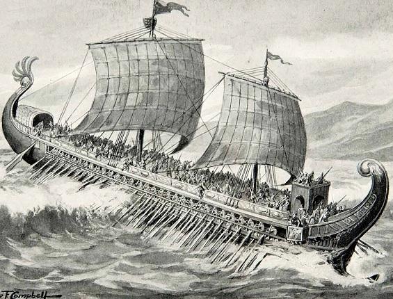 Schiff Phönizier